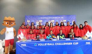 Selección de voleibol apoya a la 'bicolor' en el Mundial Rusia 2018