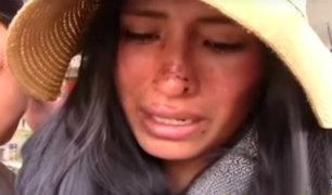 Huancayo: joven denuncia que fue golpeada por su expareja