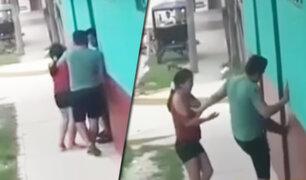 Iquitos: mujer en presunto estado de ebriedad ataca vivienda de expareja