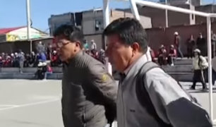Huancayo: Pedro Castillo llegó para respaldar paro de docentes