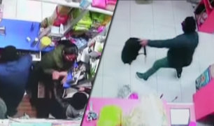 San Juan de Miraflores: delincuentes se llevan 25 mil soles de tienda de abarrotes
