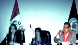 Poder Judicial admite recusación contra jueces que fallaron a favor de Ollanta y Nadine