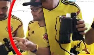 Línea aérea despide a ejecutivo colombiano que ingresó licor en estadio de Rusia