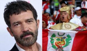 Antonio Banderas envía emotivo mensaje a la Selección Peruana tras partido ante Francia