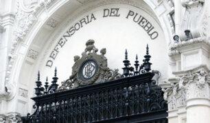 Defensoría del Pueblo presentará proyecto para regular publicidad estatal