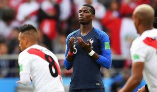 """Pogba también aplaude a la selección peruana: """"Juegan como una familia"""""""