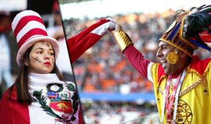 La apasionada hinchada que vistió de rojo y blanco el Mundial de Rusia