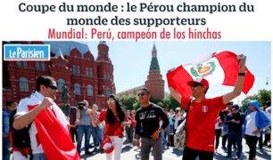 """""""¿Cómo no amar a Perú?"""": Así se rinde la prensa francesa ante hinchada Blanquirroja"""
