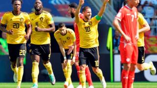 Mundial Rusia 2018: Bélgica goleó 5-2 a Túnez y clasificó a octavos de final