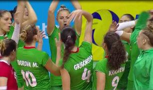 Perú pierde 3 – 0 frente a Bulgaria en el Challenger Cup