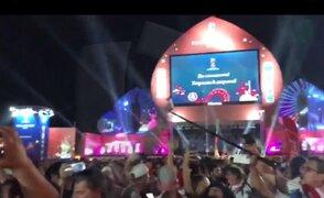 VIDEOS: Miles de peruanos llegan a Sochi para último partido de la bicolor