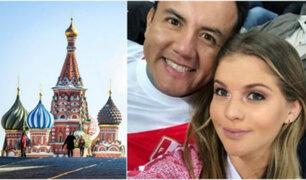 Protegido por el Congreso: blindan a Richard Acuña y él lo celebra desde Rusia