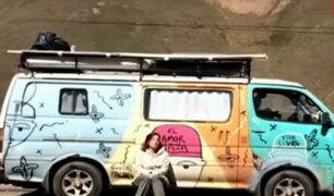 Pareja de argentinos pide ayuda para cumplir sueño de viajar a Alaska
