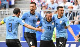 Uruguay vs Rusia: Charrúas golearon 3-0 y pasan liderando Grupo A