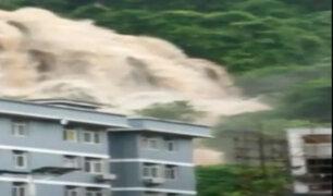 China: lluvias torrenciales causan graves inundaciones en la provincia de Yunnan