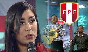 """Pierina y su homenaje a la Bicolor con la versión en quechua de """"Contigo Perú"""""""