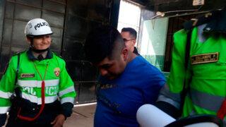 Detienen a policía que robaba autopartes junto a menor de edad en Chiclayo