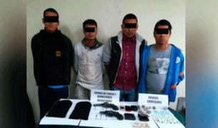 Policía intervino a 'los Injertos de Puente Piedra'