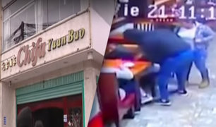 Surco: asaltan restaurante chifa por quinta vez