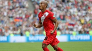 André Carrillo marcó gol mundialista después de 36 años