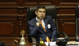 """Luis Galarreta señaló que """"Parque de la Memoria"""" no provocó gastos al Congreso"""
