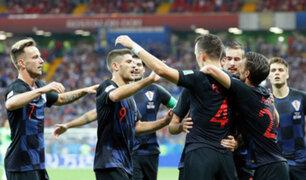 Rusia 2018: Croacia venció 2-1 a Islandia por Grupo D