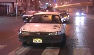 Falsos taxistas roban a jóvenes en discotecas de Barranco