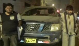 Huaycán: capturan a presuntos ladrones que habrían robaron camioneta