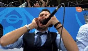 La emocionante narración de Pablo Girat tras gol del triunfo de Argentina