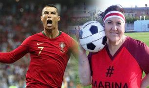 Rusia: mujer bajó casi 100 kilos para conocer a Cristiano Ronaldo