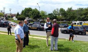 Al menos cinco muertos deja tiroteo en la redacción de un periódico en Maryland