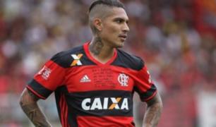 Paolo Guerrero quedó descartado por lesión para el partido de Flamengo