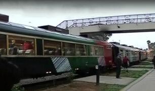 """Estación Desamparados: """"Tren Macho"""" parte a Huancayo por feriado largo"""