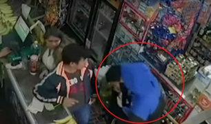 Ladrón golpea y asalta a escolar de 14 años en tienda de Breña