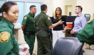 EEUU: Melania Trump llegó a Arizona para visitar a niños inmigrantes