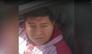 Matucana: conductor aparentemente ebrio intentó escapar de policía