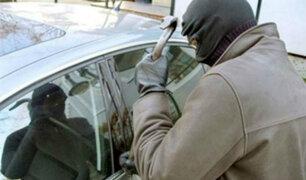 Centro Cívico: detienen a dos 'roba carros' en persecución policial