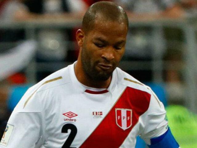 Perú vs Francia: ¿Por qué Alberto Rodríguez apareció con el ojo morado?
