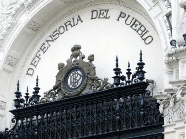 Defensoría pide mantener enfoque de género en Currículo Nacional