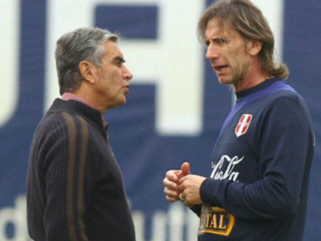 Perú vs. Brasil: Gareca y Oblitas inconformes con árbitro Roberto Tovar