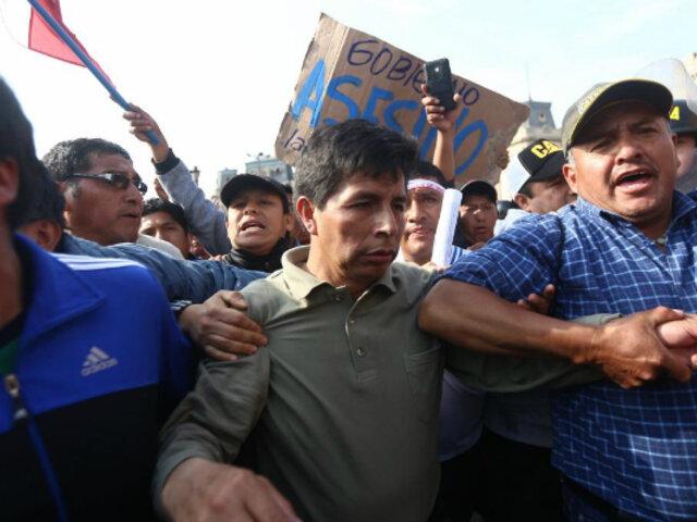 Documento revelaría nexos entre Pedro Castillo y Movadef
