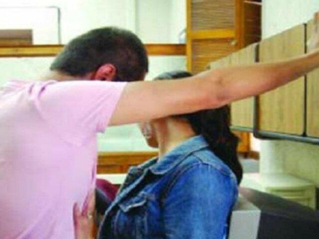 Delito de acoso sexual será sancionado con penas de 3 a 5 años de cárcel