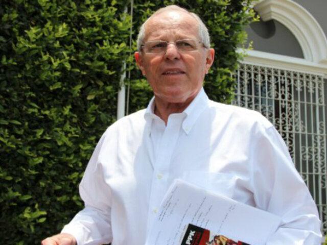 PPK: expresidente retornó a su domicilio tras ser dado de alta de clínica