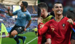 Uruguay ganó 2- 1 y dejó a Portugal fuera del Mundial