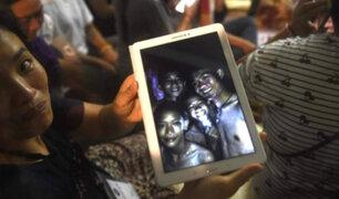 Empezó rescate de niños atrapados en una cueva de Tailandia