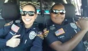 EEUU: duelo musical de mujeres policías se vuelve viral en redes sociales