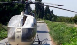 Francia: buscán a ladrón que escapó de una cárcel en helicóptero