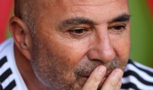 Le dijo adiós: Sampaoli dejó de ser entrenador de la selección Argentina