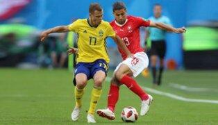 Mundial Rusia 2018: Suecia vence 1-0 a Suiza