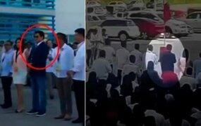 Impactantes imágenes: francotirador mata alcalde en plena ceremonia